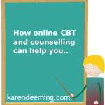 Online CBT and counselling for emotional difficulties for emoti