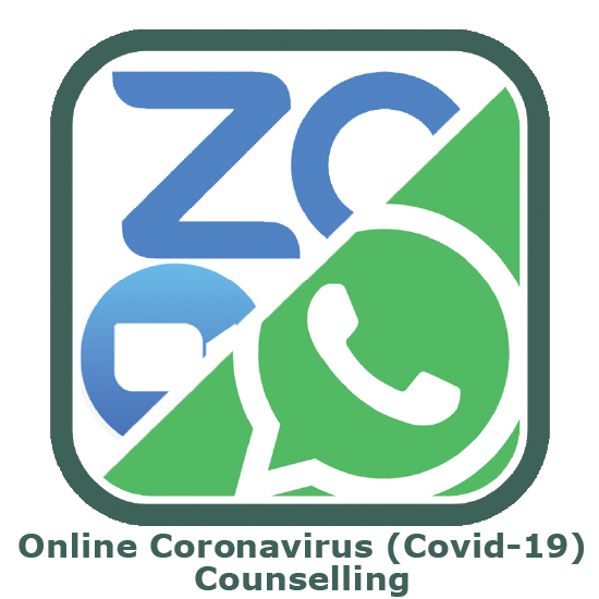 Zoom and Whatsapp panel for online counselling